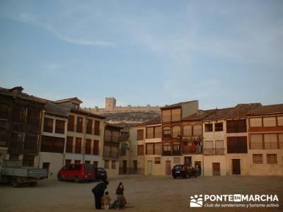 Plaza del Coso - Turismo Peñafiel; excursiones senderismo madrid; senderismo semana santa